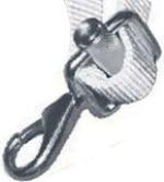 25mm Webbing 316 Stainless Steel snap hook with buckle