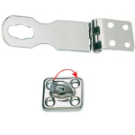 Hasp & Staple 96mmPolished Stainless Steel