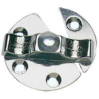 Marine Turn Button Catch / Latch 45mm Dia 316 Stainless Steel