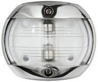 Navigation Light Compact 12 White 225 Degree Masthead Stainless Surround