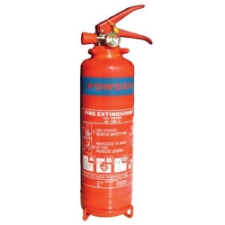 Fire Extinguisher 1Kg Powder 8A 34B Rated