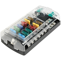 Fuse Box for 12 Blade Fuses
