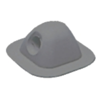 Inflatable Boat or Dinghy Fairlead Black EPDM
