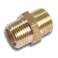 Barrel Nipple 1'' B.S.P Hexagonal Brass