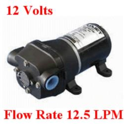 Flojet Shower Drain Pump 4105 Series 12 Volt Pumps 12.5 LPM