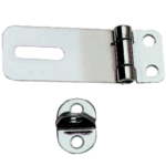 Hasp & Staple 50mm Polished Stainless Steel