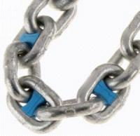 Anchor Chain Markers 8mm BLUE Pack of 10
