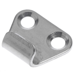 Keep Plate 26 x 21mm fits all Eccentric Latch Stainless 304